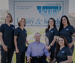 The Cross City Dental team